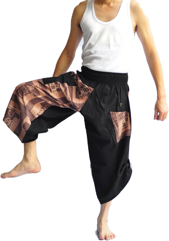 28f73895935 Siam Trendy Unisex 2 Thai Fisherman Pants Yoga Trousers Free Size ...