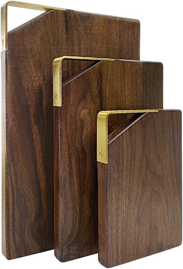 HANSWEI Super-cheap Wood Cutting Finally popular brand Board for Kitchen Walnut Set of 3 Choppin