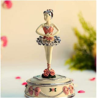Music box Dancing Ballerina Music Box Wind Up Music Boxes Musical Ballerina Swan Lake For Girls Kids Christmas Birthday Gi...