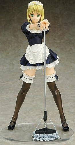 Fate   Hollow Ataraxia PVC Statue 1 6 Saber ′Maid Version′ 26 cm