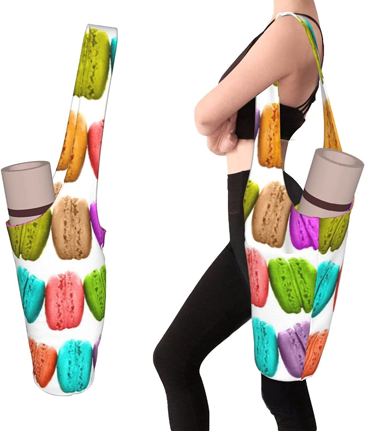 French Macarons Popular product trust Yoga Mat Bag - Pocket Size and Large Zipper with