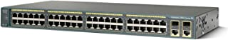 Cisco WS-C2960-48TC-S 2960 48-Port 10/100 Managed Ethernet Catalyst Switch (Certified Refurbished)