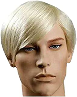 Best dark blonde male wig Reviews