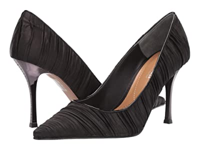 J. Renee Ginesia (Black Satin) High Heels