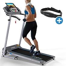 Kinetic Sports - Cinta de Correr con cinturón pulsímetro (