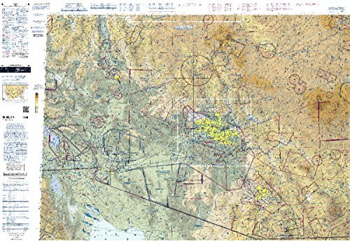 FAA Chart: VFR Sectional PHOENIX SPHX (Current Edition)