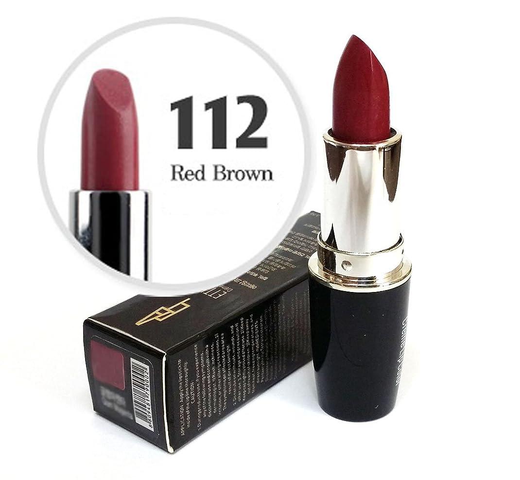 苦しみ結紮罪人[Ettian] クリームリップカラー3.5g / Cream Lip Color 3.5g / 新しい口紅 #112レッドブラウン/ New Lipstick #112 Red Brown / ドライ感じることはありません / never feels dry / 韓国化粧品 / Korean Cosmetics [並行輸入品]
