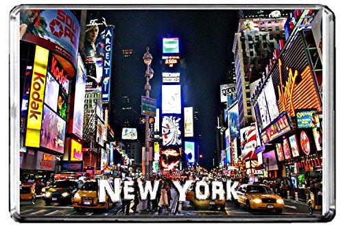 CFL E099 NEW YORK FRIDGE MAGNET USA TRAVEL PHOTO MAGNETICA CALAMITA FRIGO