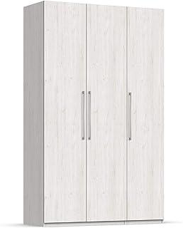 Unniq Armario ropero 3 Puertas batientes - 221x147x59 cm - Fresno