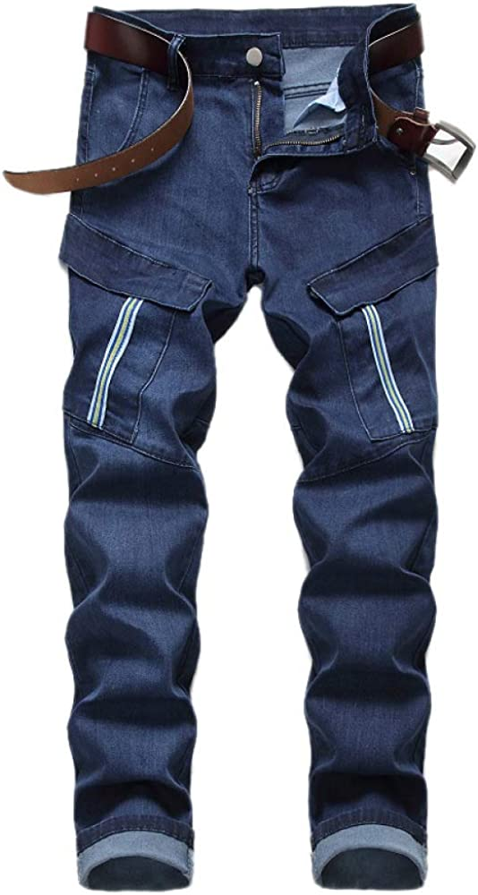 nobranded Men's Jeans Autumn and Colorado Springs Mall Multi-P Winter Stretch Straight Special price for a limited time