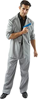 Mens Adult Miami Vice Detective 'Rico' Tubbs 80s Cop Outfit Fancy Dress Costume