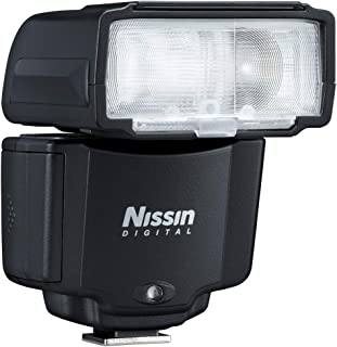 Nissin i400 flash unit for Nikon Black