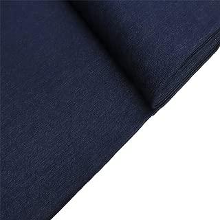 "Denim Fabric, 62-64"" Wide, 100% Cotton, Over 100 Yards In Stock – 5 Yard Bolt- – Indigo Denim"