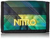 Nitro Snowboards Wallet, Monedero 14 cm, Geo Green