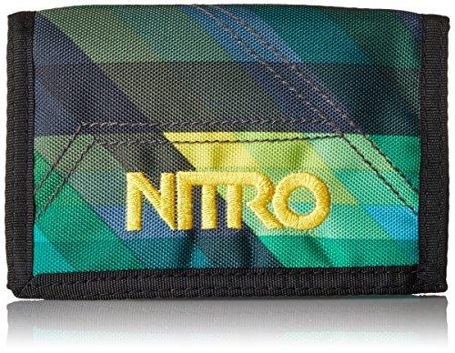 Nitro Snowboards Nitro Wallet, Geldbörse, Geldbeutel, Portemonnaie, Münzbörse, Geo Green, 10 x 14 x 1 cm, 1131-878000_1279, 60g