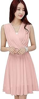 Best pink chiffon dress short Reviews
