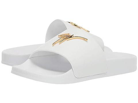 Giuseppe Zanotti Brett Leather Slide Sandal