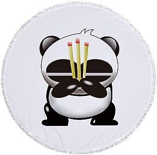 praying panda