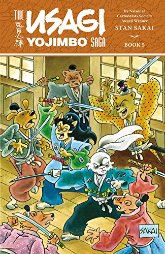 Usagi Yojimbo Saga Volume 5 (English Edition)