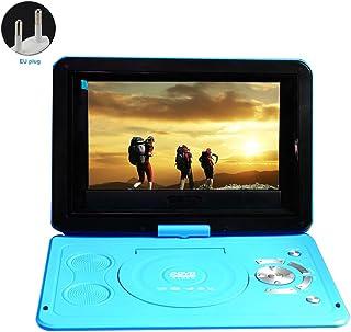 Lecteur DVD portable 13,9 pouces avec batterie rechargeable, écran pivotant, lecteur de..