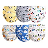 Orinery Cotton Reusable Toddler Baby Training Pants 6-Pack (1-2T, XT-B)