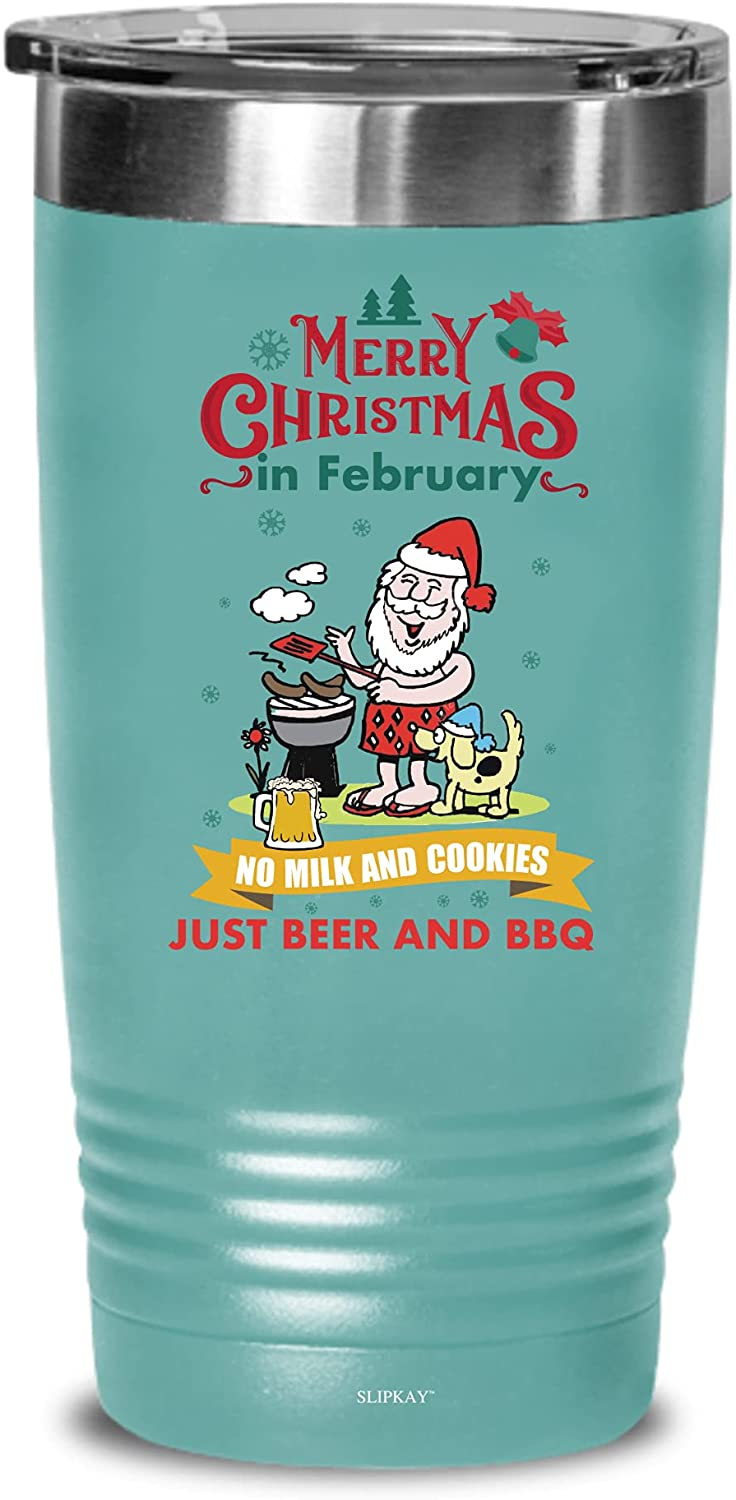 Christmas In February New York Mall No Milk And Tumb Cookies BBQ Beer Shipping included Just