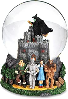 The San Francisco Music Box Company Wizard of oz Wicked Witch Castle 120mm Water Globe