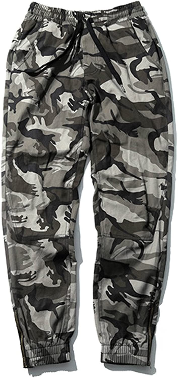 4c378bec2 Zhhmeiruian Mens Fitness Fitness Fitness Camouflage Pants Sports ...