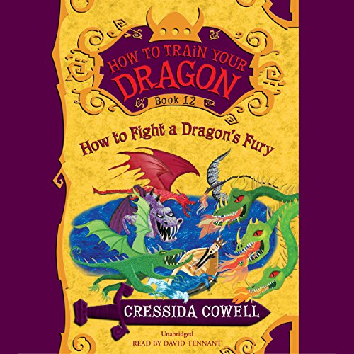 How to Fight a Dragon's Fury audiobook cover art
