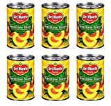 Del Monte Canned California Freestone Sliced Peaches, 15.25-Ounce (Pack of 6)