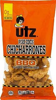 Utz Fried Pork Rinds Chicharrones (BBQ, 6-5 oz. Bags)