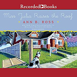 Miss Julia Raises the Roof audiobook cover art