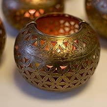 Garden Of Arts Moroccan Vintage Tea Light Holder Lantern for Christmas Lighting