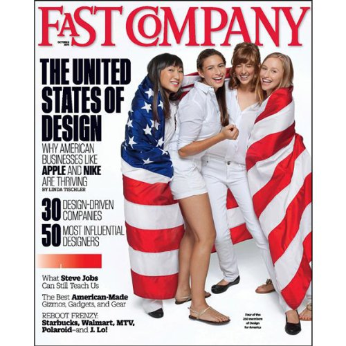Audible Fast Company, October 2011 cover art