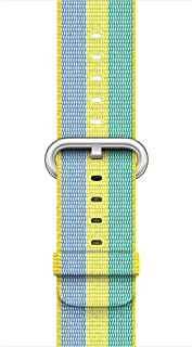Ozone Replacement Woven Nylon Apple Watch Strap Band for 38mm - multi color