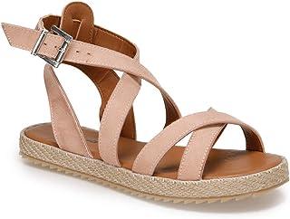 CS19154 Bronz Kadın Sandalet