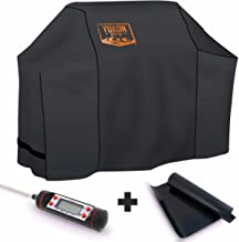 Yukon Glory 7573 Premium Grill Cover Same as Weber 7106 for Weber Spirit 200 and 300 Series Gas Grills, Offers Year Round Protection, Includes Grilling Kit, Will Not Work with 2015 Model