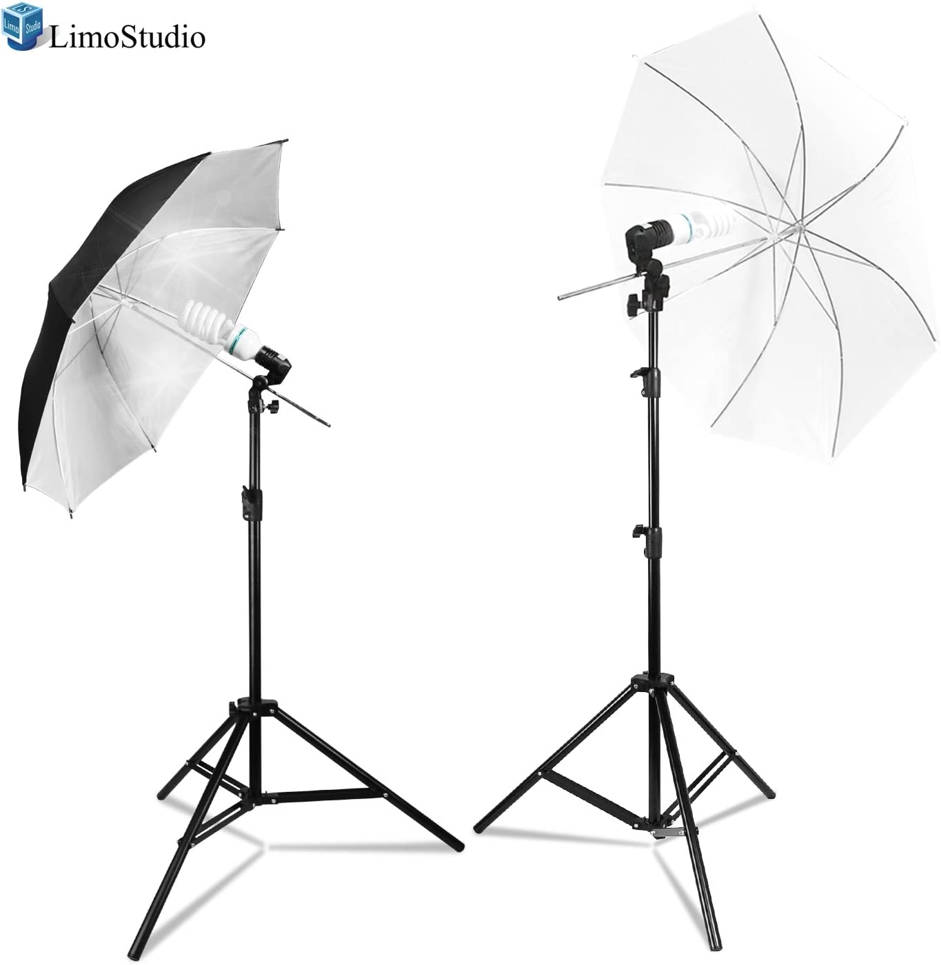LimoStudio Umbrella Reflector Lighting Kit Light Trip Selling and selling with Stand Time sale