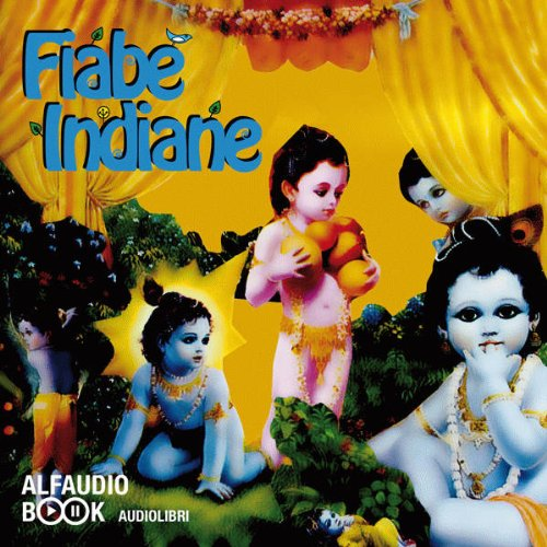 Fiabe indiane audiobook cover art