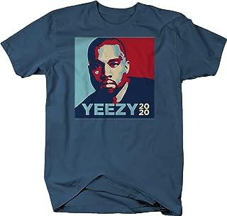 556 Gear Yeezy 2020 Kanye West President Trump Tshirt - Large