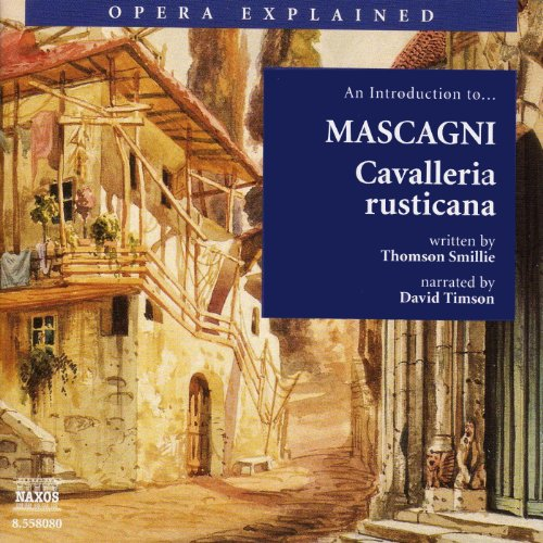Cavalleria Rusticana audiobook cover art