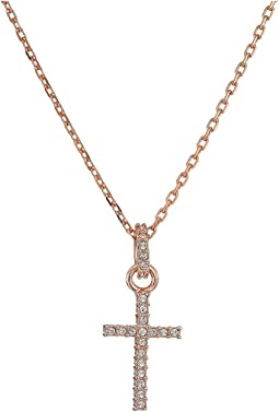 Swarovski - Mini Cross Pendant Necklace
