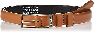 Calvin Klein Women's WINGED 2.0 Belt, Brown, 90 cm