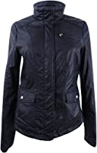 Celebrity Pink Women's Faux-Leather Jacket Black Small