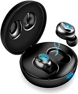 Bluetooth イヤホン 完全 ワイヤレス イヤホン Bluetooth 5.0+EDR搭載 左右分離型 片耳&両耳とも対応 IPX6防水 自動ペアリング マイク内蔵 ハンズフリー通話 タッチ式 ブルートゥース イヤホン Siri対応 充電...