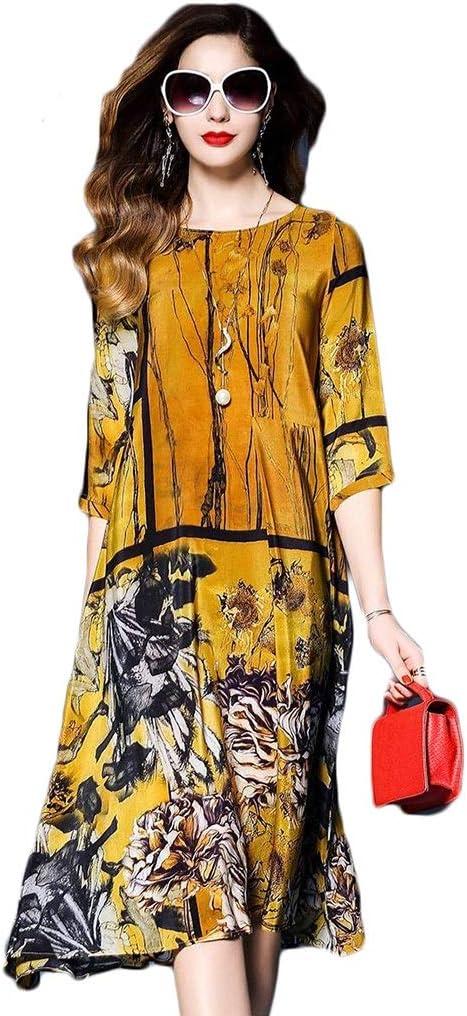 Dress,Women's Sale price Cocktail Formal Swing Trust Print Color Loose Dress