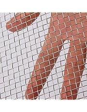 AIEX 304 RVS Geweven Draad 5 Mesh voor Luchtventilatie Bescherming Mesh voor Metalen Beveiliging Guard Tuin Screen Kasten, 12x24 Inch/30.5x61cm