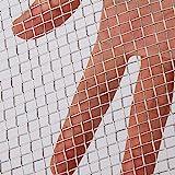 AIEX Fil Métallique Tissé en Acier Inoxydable Grillage 304 5 pour La Ventilation Protégeant la Maille Protectrice pour Les Armoires de Protection en Métal Avec écran de Jardin (30.5x61cm)