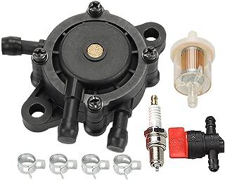 Hilom 16700-Z0J-003 Fuel Pump for Kawasaki 49040-7001 Briggs Stratton 808656 491922 Honda EB11000 EN2000 EN2500 Generator GC135 GC160 GC190 GX610 GX620 GX670 GXV530 GXV610 GXV620 GXV670 Engine