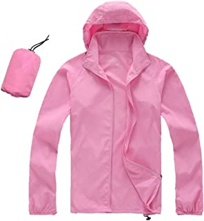 EDTara Hiking Jacket Waterproof UPF30 Sun and UV Protection Coat Outdoor Sport Skin Camping Clothing Quick Dry for Men Women